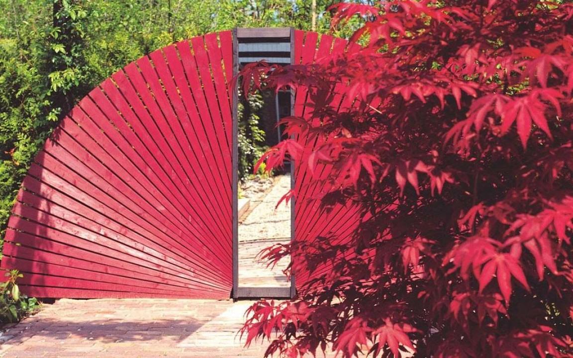 Deco tuinspiegel hillhoutcode 597090 de tuinen van appeltern - Deco tuin ...