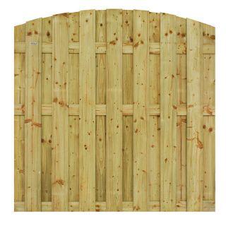 Jumbotoogscherm 180x180 cm vurenhout (Art. 306207)