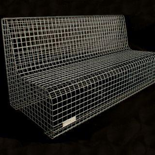 Zitbank van gegalvaniseerd staal (Staal en Stoer)