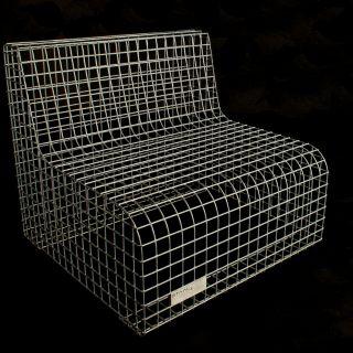 Loungestoel van gegalvaniseerd staal (Staal en Stoer)