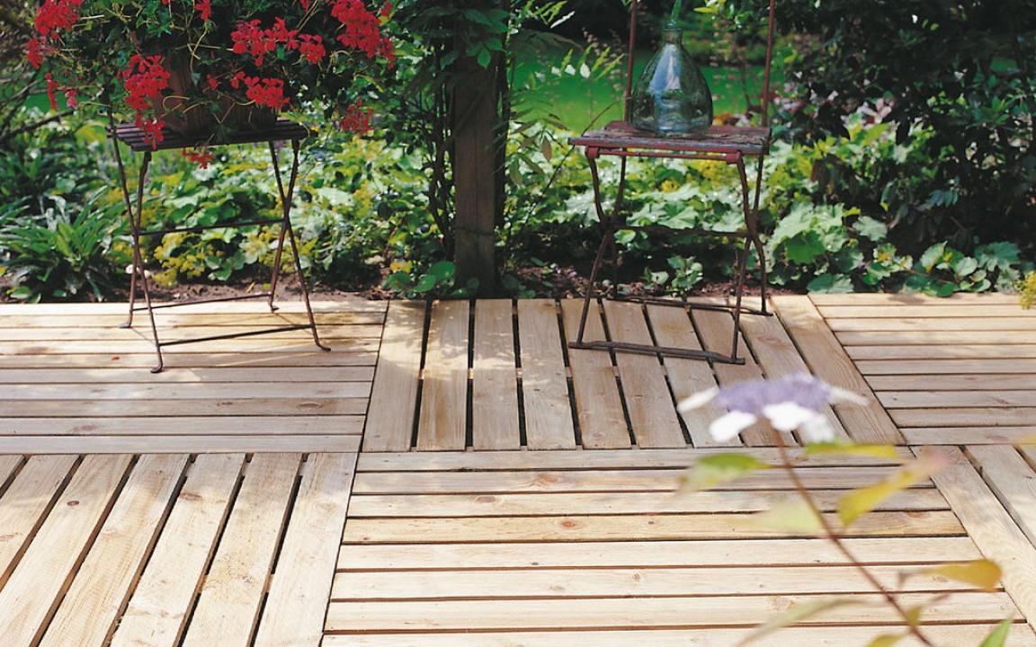 Hardhouten Tegels 100x100 : Vierkante houten tuintegel cm art
