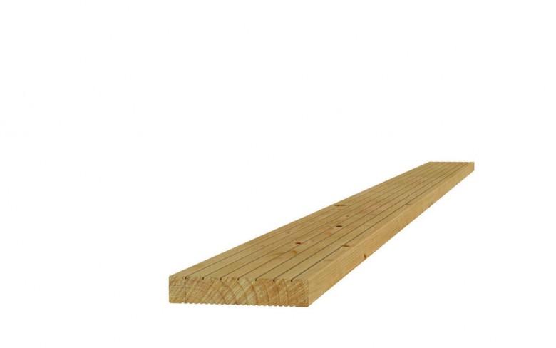 Grenen dekdeel 2,8x14,5x300cm (Art. 06502)