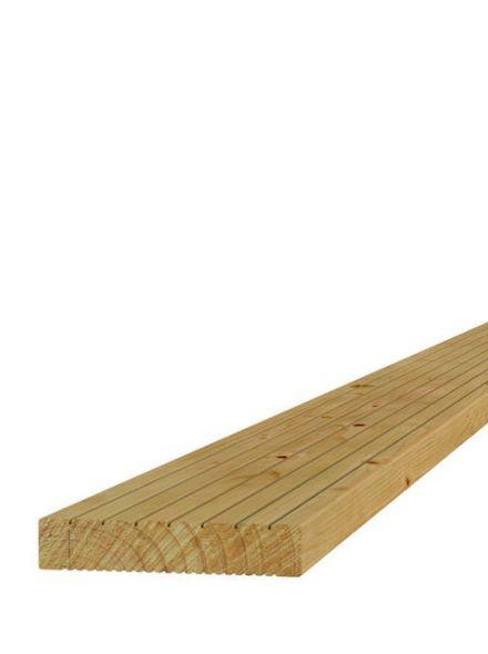 Grenen dekdeel 2,8x14,5x400cm (Art 06505)