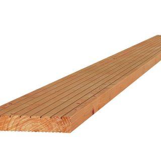 Douglas geprofileerde vlonderplank 2,4x13,8x300 cm blank (Art. 31355)
