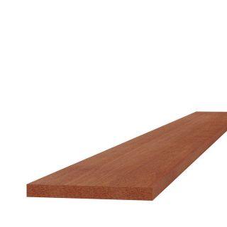 Hardhouten plank fijn bezaagd 2x20x250cm (Art. 14001)