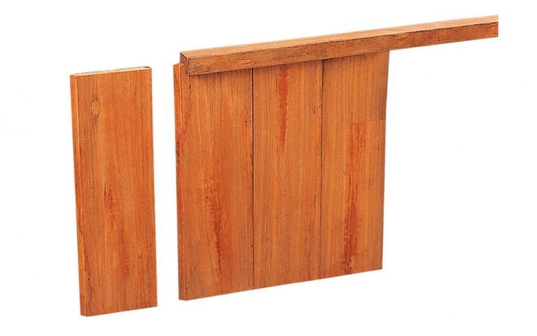 Hardhouten damwandplank 3x18,5x200cm (Art. 14603)