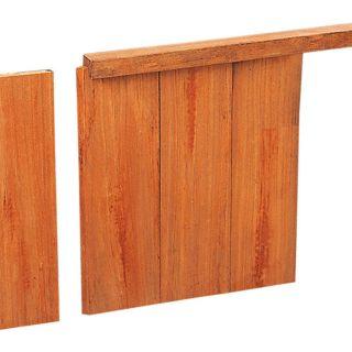Hardhouten damwandplank 3x18,5x300cm (Art. 14602)