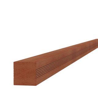Hardhouten paal 8,5x8,5x400cm (Art. 14224)