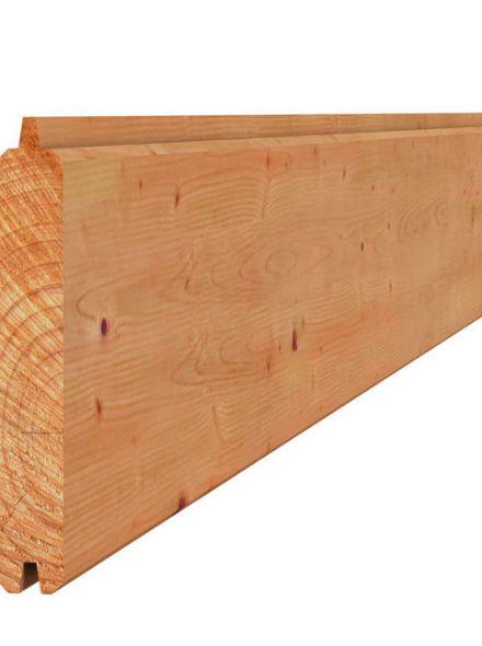 Douglas blokhutprofiel 2,8x19,5x300cm (Art. 40043)