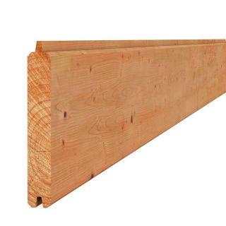 Douglas blokhutprofiel 2,8x19,5x500cm (Art. 41046)