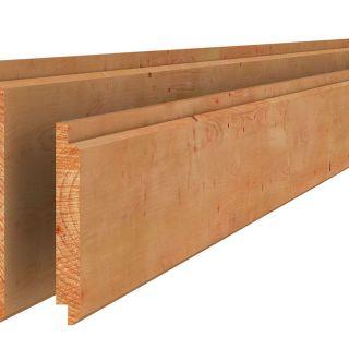 Douglas halfhouts rabat 1,8x19,5x400 cm groen geïmpregneerd (Art. 44605)