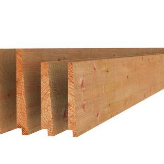 Douglas Zweeds rabat 1-2,1x16,5x400 cm groen geïmpregneerd (Art. 44035)