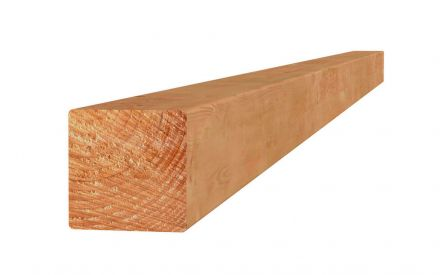 Douglas paal 6,5x6,5x300 cm blank (Art.31855)