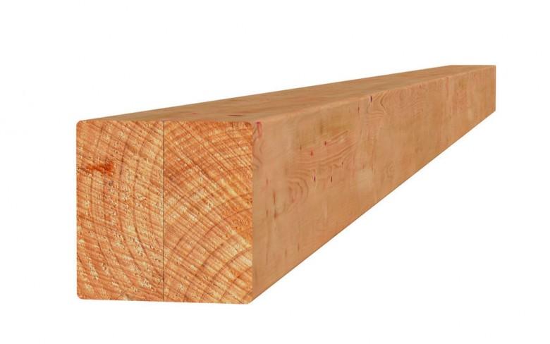 Douglas paal duplo verlijmd 14x14x240 cm blank (Art. 31323)
