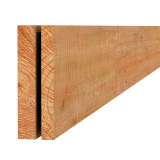Douglas plank fijnbezaagd 2,2x20x400cm groen geïmpregneerd (Art. 44420)