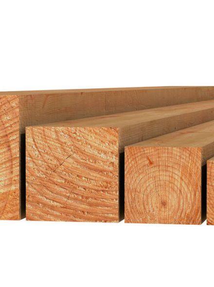 Douglas paal fijnbezaagd 10x10x300 cm blank (Art. 31440)