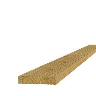 Grenen dekdeel 2,8x14,5x400cm (Art. 06505) vlonderplank