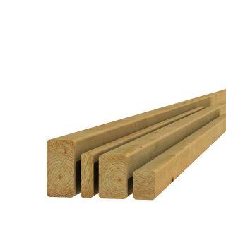 Grenen regel 4,4x9,5x390cm (Art. 06709)