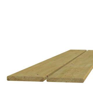 Vuren plank geschaafd 1,8x14,5x500cm (Art. 06311)