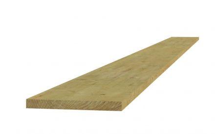 Vuren plank fijnbezaagd 1,9x14,5x180 cm (Art. 06425)