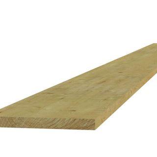 Vuren plank fijnbezaagd 1,9x20x360 cm (Art. 06424)