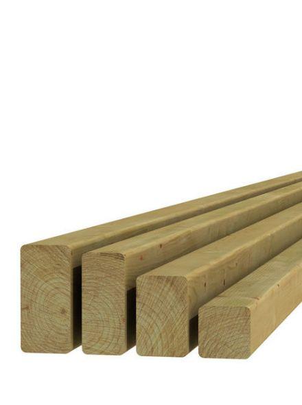 Vuren regel 4,5x4,5x180cm (Art. 06920)