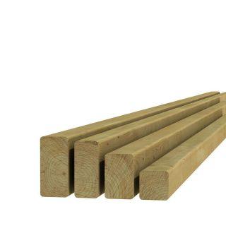Vuren regel 4,5x4,5x300cm (Art. 06922)