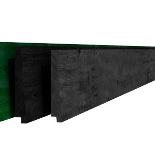 Vuren rabat groen 1,5-3x19,5x420 cm (Art. 05207)
