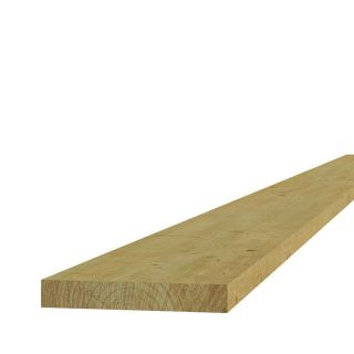 Steigerplank 2,8 x 19,5 x 500 cm geïmpregneerd (Art. 06545)