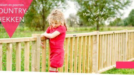 Houten hekwerken en houten poorten