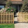 Excellent houten poort recht 100 x 80 cm (Art. 203823)