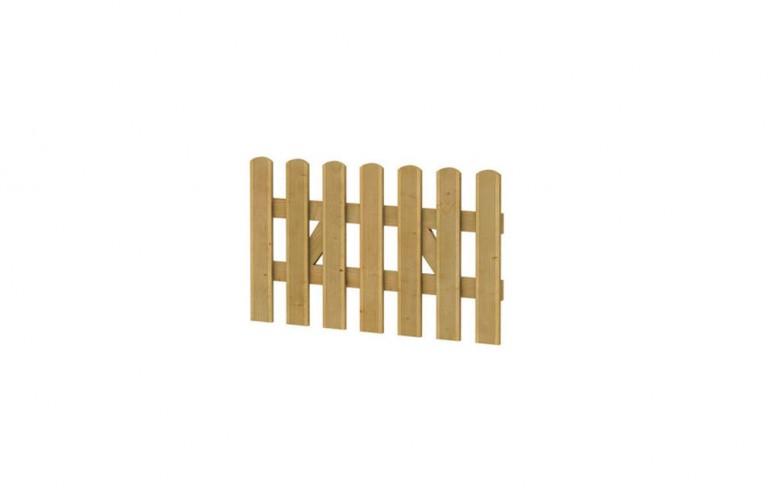 Reliëf houten hek poort 100 x 60 cm (Art. 01501)