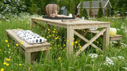 Houten tuinmeubilair (Hillhout)