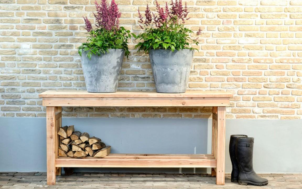 Decoratie tafel douglas blank art 11525 de tuinen van appeltern - Decoratie tafel basse ...