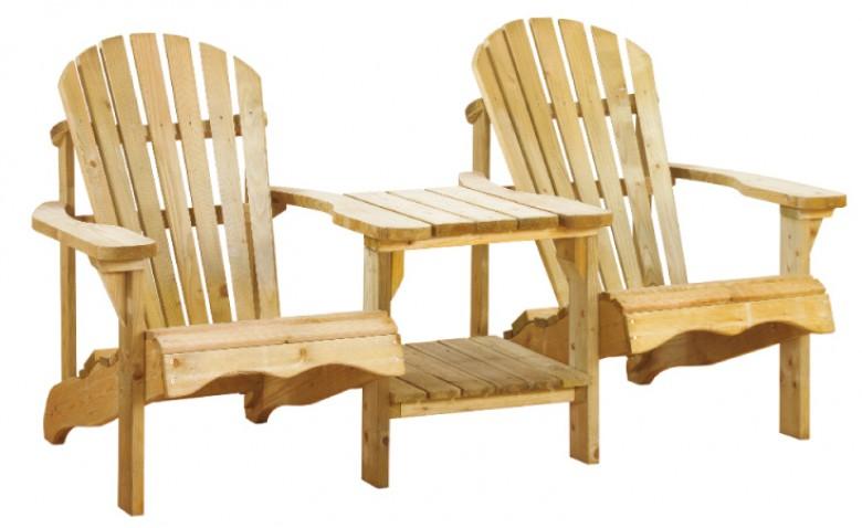 Canadian tete-a-tete deckchair (Art. 11022)