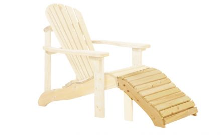 Canadian deckchair Feetrest (Art. 11023)