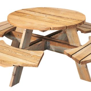 Ronde picknicktafel Mick (Art. 11011)