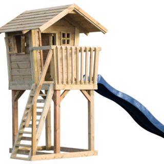 Kinderspeelhuis Snoepie met glijbaan (Art. 12627 + 12528)