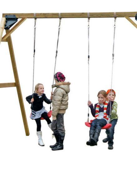 Double Swing, vrijstaande schommel (Art. 637017)