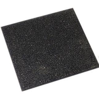 Rubbertegel zwart 50x50 cm (Art. 12562)