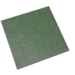 Rubbertegel groen 50x50 cm (Art. 12559)
