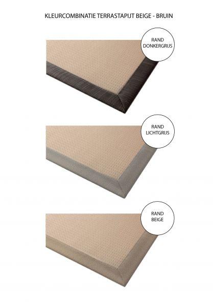 Terrastapijt LuxxOut 200 x 200 cm (Beige - Bruin)