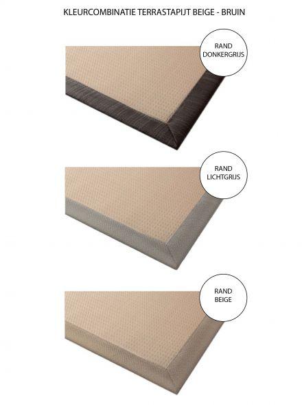 Terrastapijt LuxxOut 200 x 300 cm (Beige - Bruin)