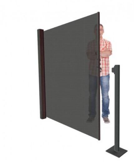 Voetplaat groot 20 x 20 cm (Anker eindpaal)