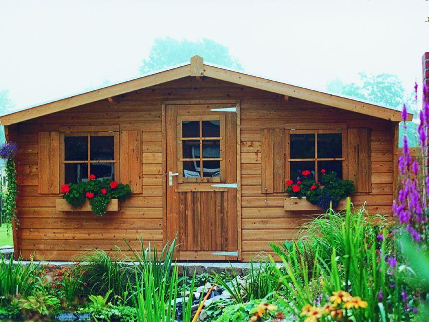 Uitgelezene Tuinhuis 3x2 meter met 1 enkele deur en 2 ramen De Merel | De FM-13