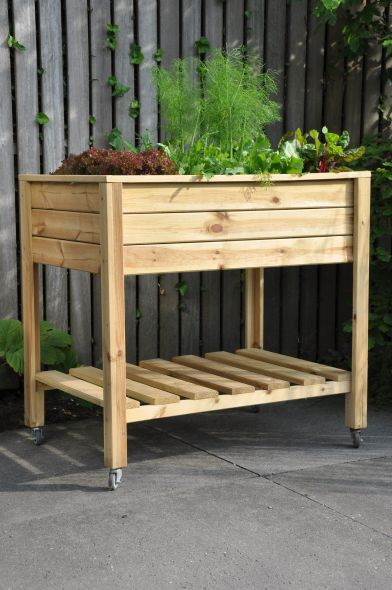 Kweektafel Planter On Wheels