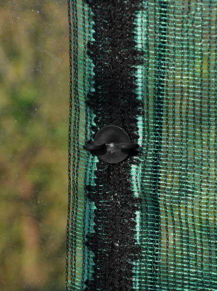 Schermdoek groen breed 300 cm (per m1)