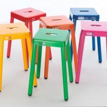 Barkrukset Colorful (6 stuks van 50 cm hoog)