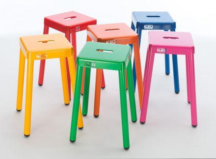 NJOJ Krukset 'Colorful' (6 stuks van 50 cm hoog)