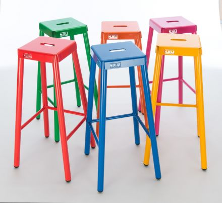 NJOJ Barkrukset 'Colorful' (6 stuks van 80 cm hoog)